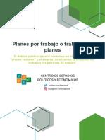 Empleo y Planes