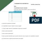 Função polinomial do 1º grau