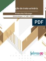 PROTOCOLO FEBRASGO- Infec do Trato Urinário