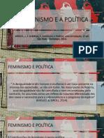 Processos Psicossociais - 01 - O Feminismo e a Política - O Público e o Privado