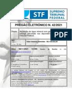 Edital STF