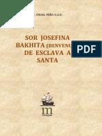 PEÑA, A., Sor Josefina Bakhita (benvenuti) de esclava a santa, sf