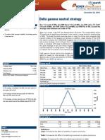 Delta Gamma Neutral Strategy