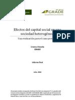 Efectos Capital Social