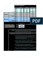 2011 P90X Worksheet
