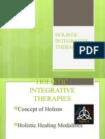 HOLISTIC INTEGRATIVE THERAPIES
