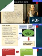 Aspectos Politicos 1852-1861