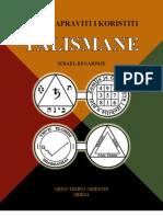 Kako Napraviti i Koristiti Talismane - Izrael Regardije