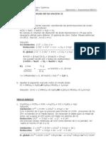 Ejercício de ajuste por  ión electrón II