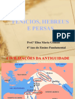 Fenícios, Hebreus e Persas Aula 30-05-2019
