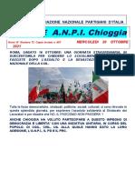 Notiziario ANPI Chioggia numero 72