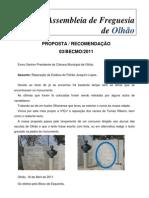 Proposta Recomendação Estátua Patrão Joaquim Lopes