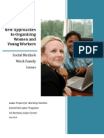 New Approaches to Organizing Women and Young Workers