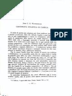 J. Waterhouse. Continuità stilistica di Casella