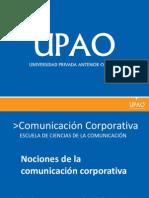 NOCIONES DE LA COMUNICACION CORPORATIVA