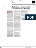 Parole di Giustizia, è la nuova sfida - Il Corriere Adriatico del 19 ottobre 2021