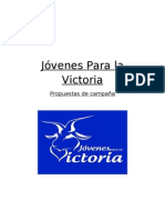 Jóvenes Para la Victoria - Propuestas