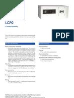 LCP0 Control Panel GB(1110)