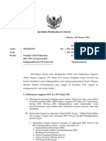 Petunjuk Teknis Pelaksanaan DIPA
