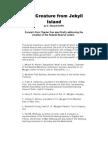 Jekyll Island - The Creature from Jekyll Island (exerpts)
