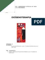 oxigenoterapia