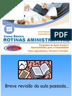 Rotinas Admninistrativas - Aula 6