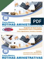 Rotinas Admninistrativas - Aulas 1 e 2