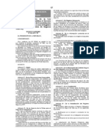 Reglamento de la Ley 29549 Ley de Consolidación de beneficios Sociales y crea el Registro