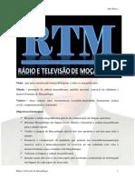 RTM – Rádio e Televisão de Moçambique, E.P - Projecto, 2020 JK