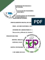 Informe de Lab. N° 1 - DSP_P
