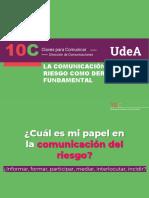 Comunicación Del Riesgo Como Derecho Fundamental - Oct 20