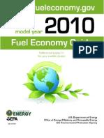 DOE Fuel Econ Doc - each vehicle