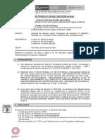 INFORME TECNICO N° 260-2021-VMVU-PMIB