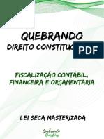 Aula 11-1 Fiscalização contábil, financeira, orçamentária - Lei Seca Masterizada