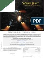 Warprift - Issue 20