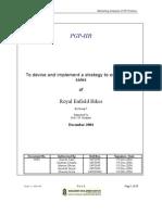 Royal Enfield Report