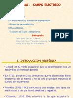 3 Elactrostatica,Campo,Flujo y l Gauus