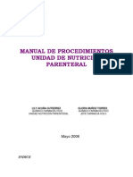 Manual de Nutricion Parenteral