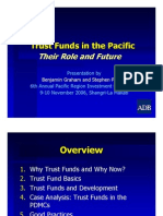 Trust Funds in the Pacific - Their Role and Future