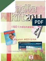 Media Kit Medisina, ISO Indonesia, website
