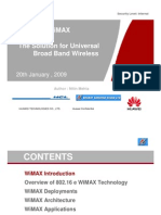 The General Introduction of WiMAX Key Technologies_V_BSNL