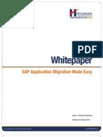 SAP Application Migration