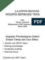 Pembelajaran Bahasa Ing Berbasis Teks