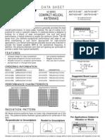 Ant 433 Heth Data Sheet