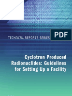 IAEA TRS 471 Guidelines for Setting Up a Facility