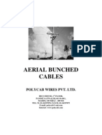 LT XLPE Aerial Bunched
