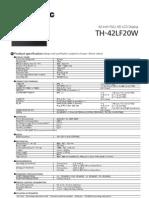 TH-42LF20W-LCD