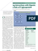 Drug Interactions of Digoxin - P-Glycoprotein
