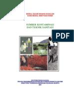 Sumber Kontaminasi Dan Teknik Sanitasi