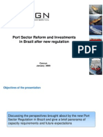 Port Regulation in Brazil and Investments After Decree No_ 6620